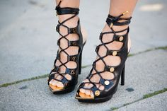 The Fashion Worshiper: Inspiration: Lace Up Heels