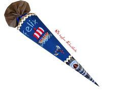 Schultüten - Schultüte aus Stoff *Wikinger* - ein Designerstück von dietapfereschneiderin bei DaWanda