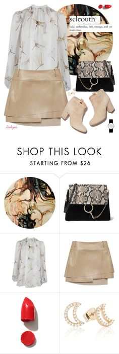 """Marvelous!"" by gabyidc ❤ liked on Polyvore featuring Alexander McQueen, Helmut Lang, Laurence Dacade, NARS Cosmetics, Astrid & Miyu and Christian Dior"