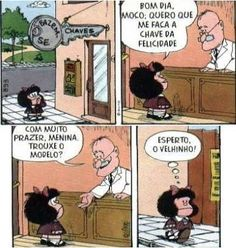 Mafalda felicidade
