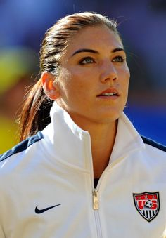 Hope Solo ; gorgeous