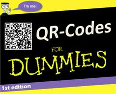 QR-codes for dummies You Oughta Know, Learn To Code, Learn Coding, Software, Company Logo, Qr Codes, Learning, Studying, Teaching