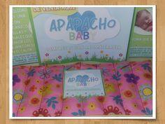 Apapacho baby flores fondo rosa