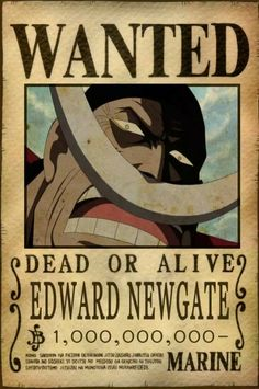 65 Best Edward Newgate Images In 2019 One Piece Anime One Piece