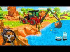 JCB Construction Excavation - Virtual Village Excavator Construction Simulator - Android Gameplay - YouTube