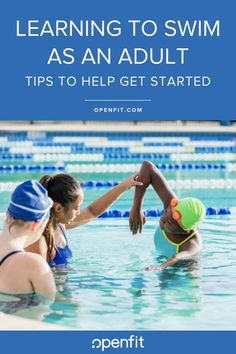 Learning to Swim as an Adult: Tips to Help You Get Started Swimming Classes, Swimming Tips, Swimming Workouts, Swimming Games, Swimming For Beginners, Workout For Beginners, Spin Bike Workouts, Arm Workouts, Swimming Motivation