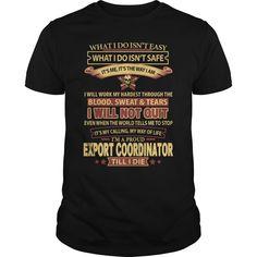 (Tshirt Produce) EXPORT-COORDINATOR [Tshirt Sunfrog] Hoodies, Funny Tee Shirts