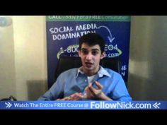 www.FollowNick.com 14. Stop posting at 3am!!! - Facebook Marketing About Facebook, Free Courses, Facebook Marketing, Social Media, Youtube, Events, Fun, Dominatrix, Social Networks