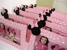 Maybe use red foam and glue for centerpeices Mickey Mouse Clubhouse Birthday Party, Minnie Mouse Theme, Minnie Mouse Baby Shower, Mickey Party, Baby 1st Birthday, Mickey Mouse Birthday, 3rd Birthday Parties, Mouse Parties, Google