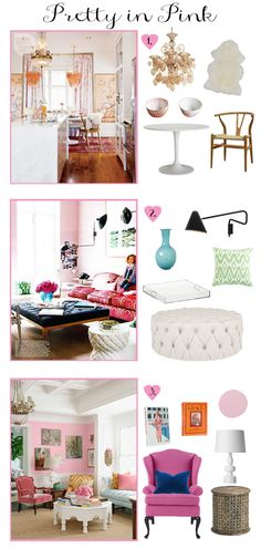 Pretty in Pink | Pink Living Spaces | Small Shop Studio Guest Post | Pink Interiors