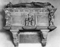 Tomb of Prendiparte Pico  Church of S. Francesco, Mirandola, Emilia-Romagna, Italy