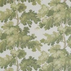 Raphael wallpaper - light green - Sandberg Tyg & Tapet