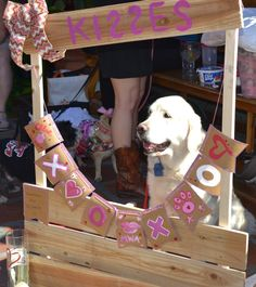 Pup Kissing Booth for Valentine's Day 2015 #SanDiego #OldTown