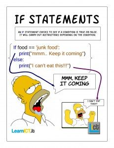 If statements - New Page