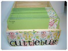 cuttlebug storage