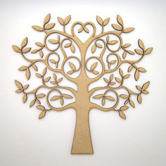 Wooden MDF Tree Shape blank, Family Tree, Wedding,Guestbook,Crafting - NEW in Crafts, Woodworking | eBay