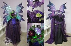 Dark Purple Faerie by Firefly-Path