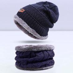 239051ad8f3 2017 Fashion Warm Cap Skullies Beanies Winter Hat for Women Men Wool Hat  Unisex Cap Beanie Knitted Caps Outdoor Sport Warm Hat
