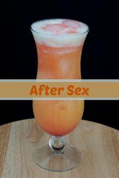 after sex, vodka, banana liqueur, orange juice, grenadine