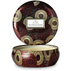 Voluspa Japonica Limited Edition Candle - Goji & Tarrocco Orange -... ($37) ❤ liked on Polyvore featuring home, home decor, candles & candleholders, orange home accessories, fragrance candles, orange scented candles, orange home decor and coconut wax candles