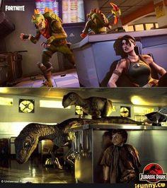 Fortnite/Jurassic Park