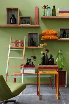 Leuke voorbeelden van hoe Groen in het interieur toe te voegen. Door middel van…