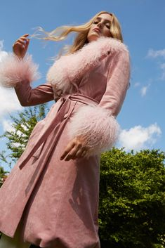 Cool and cosy winter coat brands you won't find on the high street Cosy Winter, Winter Coat, Girly Girl Outfits, Charlotte Simone, Fearne Cotton, Jan 20, Pink Faux Fur, On The High Street, Alexa Chung
