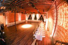 Downtown St. Pete Modern Wedding Venue with Exposed Brick Walls | NOVA 535 Wedding Reception Venue