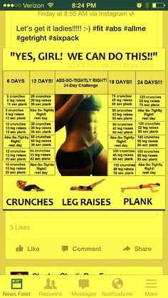 Abs Work Out starting today :)