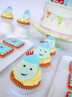 Iggle Piggle Cupcakes