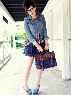 Yuki beloved satchel #Japanese #Retro&Trendy