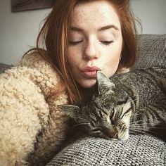 """Luca on Instagram: """"Deze kat lijkt heel cute maar heeft me zojuist... ❤ liked on Polyvore featuring luca hollestelle"""