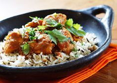 Skinny Chicken Tikka Masala | Skinnytaste  good but not quite creamy enough since we have it so rarely