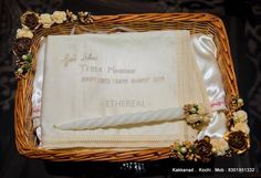 Baptism Candle, Baptism Outfit, Saree Wedding, Ethereal, Diaries, Basket, Gowns, Candles, Bridal