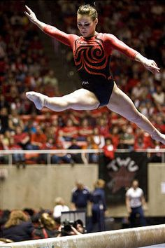 Utah Utes gymnastics: Fan favorite is no Baskett case | Deseret News #KyFun