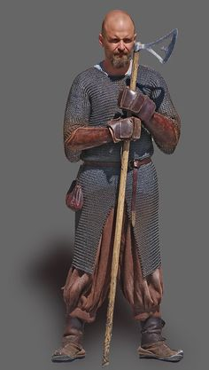 Supposed Viking warrier, Denmark (Dansk Militærhistorie)