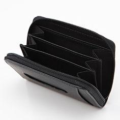 ヌメ革小銭・カード入れ ネイビー | 無印良品ネットストア
