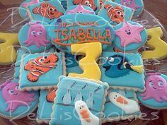 Finding Nemo sugar cookies.