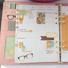 ❤️ this monthly set up #carpediemplanner #theresetgirl