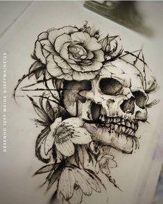 Saddam Tattoo Studio — Desenho do @jeffwaine123, artista top que faz...