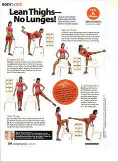 This Pin was discovered by 30 Day Fitness Challenges. Discover (and save!) your own Pins on Pinterest. | See more about lunges, lean thighs and thighs.