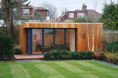 modern garden shed - Google Search