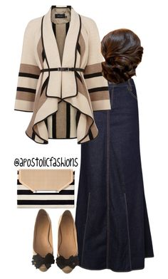 """Apostolic Fashions #808"" by apostolicfashions on Polyvore featuring MANGO, Karen Millen, Chanel and Stella & Dot"