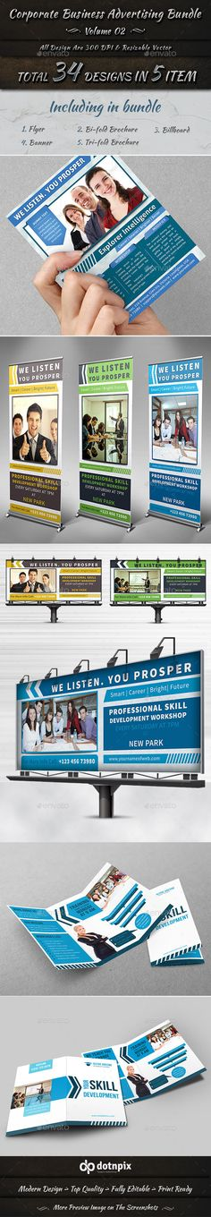 Corporate Business Advertising Bundle | Volume 2
