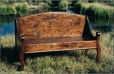 http://www.farmhousecollection.com    Payette bench
