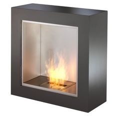 #ecosmartfire #fireplace The EcoSmart Fire Cube Indoor/Outdoor Fireplace is portable, so you can move it from room to room or from inside to outside. $5,395.00
