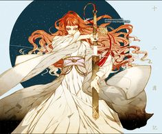 youko from the twelve kingdoms Female Character Design, Character Art, The Twelve Kingdoms, Arte Popular, Pretty Art, Anime Comics, Chinese Art, Character Inspiration, Illustrators