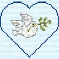 Cat Cross Stitches, Cross Stitch Heart, Cross Stitch Cards, Cross Stitch Designs, Cross Stitch Patterns, Baby Knitting Patterns, Crochet Patterns, Beginning Embroidery, Swedish Weaving