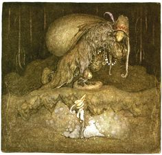 Charles Vess & Greenman Press » 10 artists that I like: #8 John Bauer