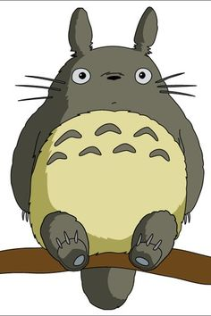Totoro in a tree